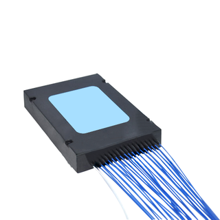 1×32 Optical PLC Splitter with blue cable