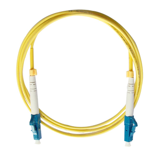 LC- LC Simplex Single mode Fiber Optic Patch Cord 0.3meter