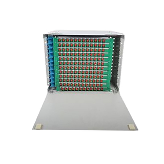 288 Core Fiber Optic Distribution Unit, Multimode 144 Port Fiber Patch Panel
