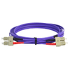 SC-SC Multimode Fiber Optic Patch Cord