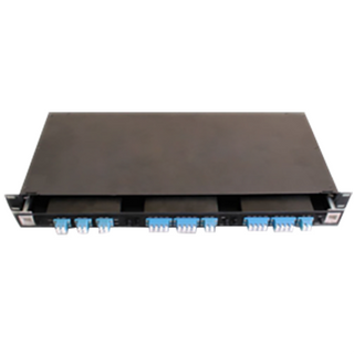 CWDM Slidable Rack, 3pcs LGX Module