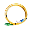 SC/PC-SC/APC SM Duplex 3.0mm Optic Fiber Patch Cord With 90 Degree Bent Boot