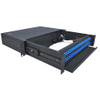 Sliding Type 2U Fiber Optic Patch Panel Durable SC Optical Fiber Distribution Frame