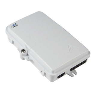 Outdoor/Indoor Wall Mounted 4/8 Ports FTTH Fiber Optic Patch Box